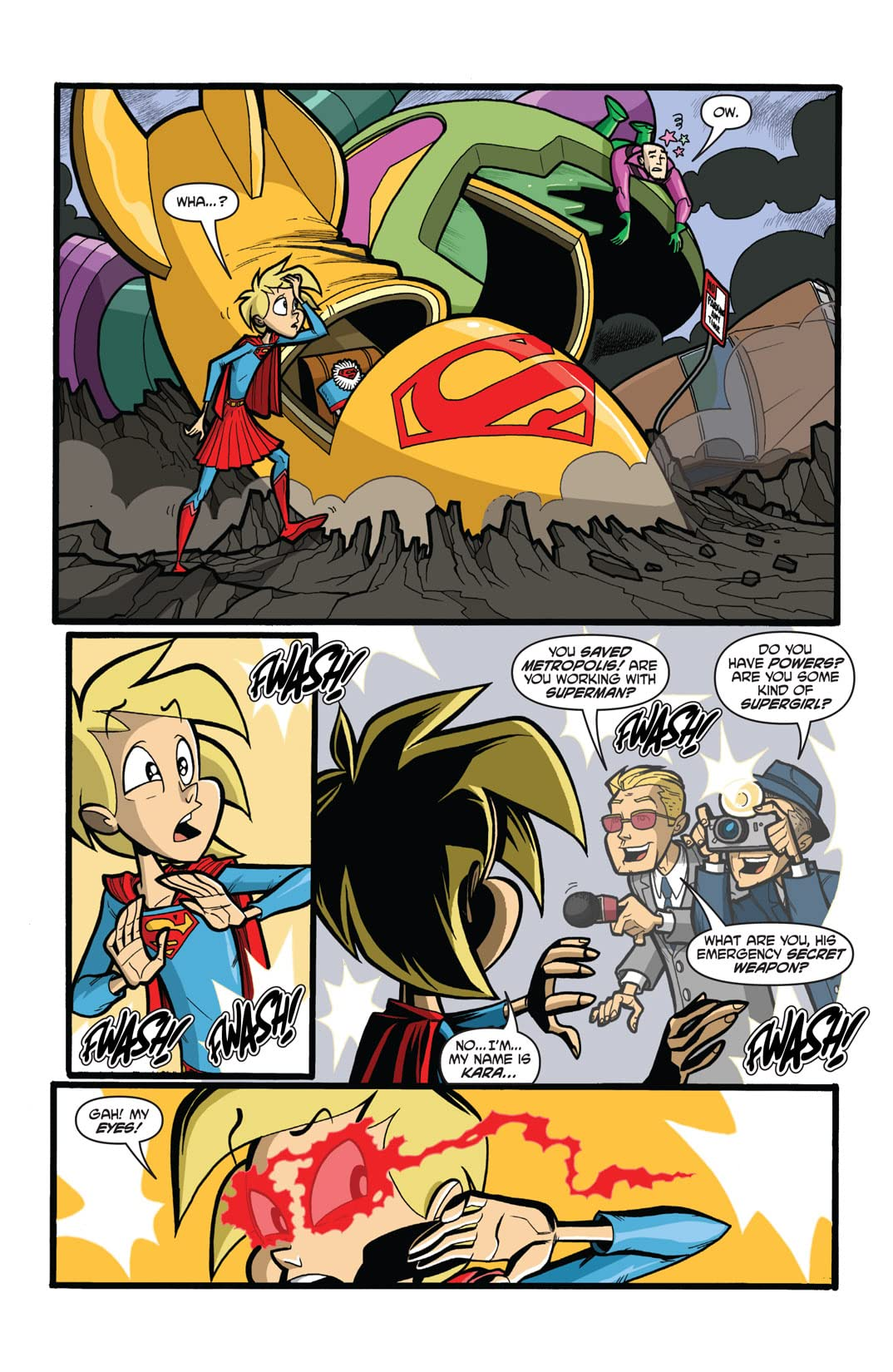 Supergirl: Cosmic Adventures in the 8th Grade #1 (of 6)