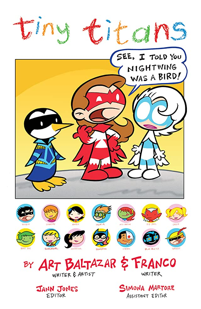 click for super-sized previews of Tiny Titans #11