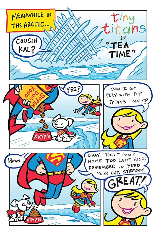 click for super-sized previews of Tiny Titans #10