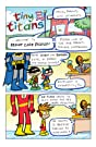 click for super-sized previews of Tiny Titans #8