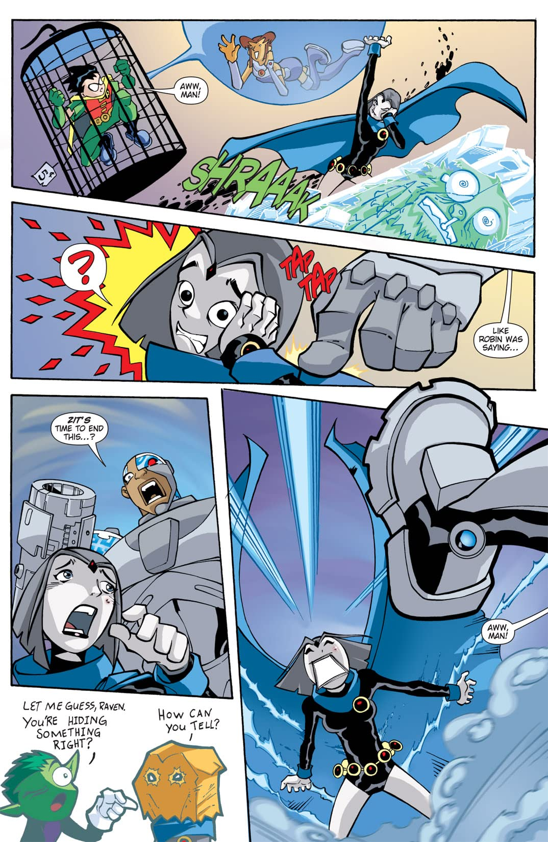 Teen Titans Go! (2004-2008) #5