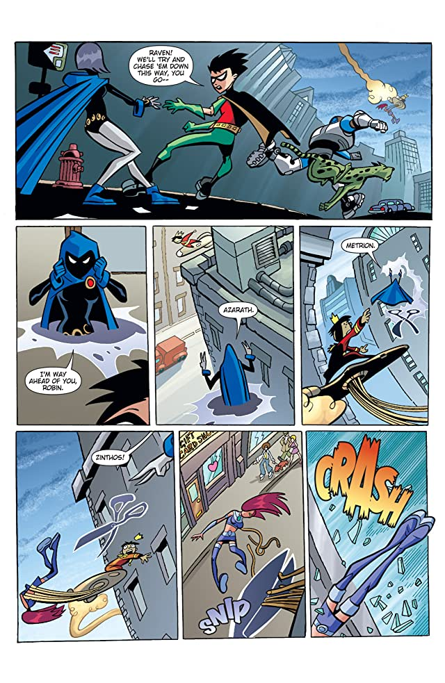 click for super-sized previews of Teen Titans Go! (2004-2008) #4