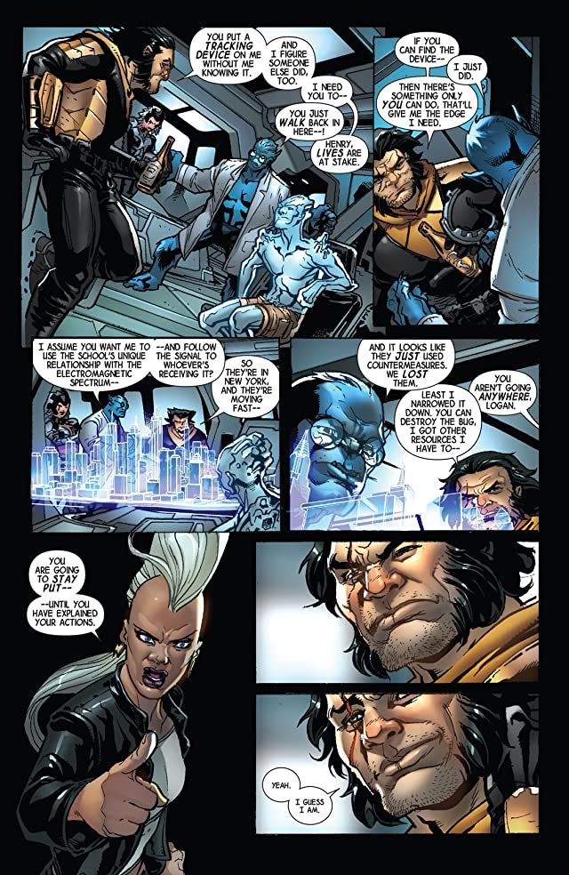click for super-sized previews of Wolverine (2014-) #10
