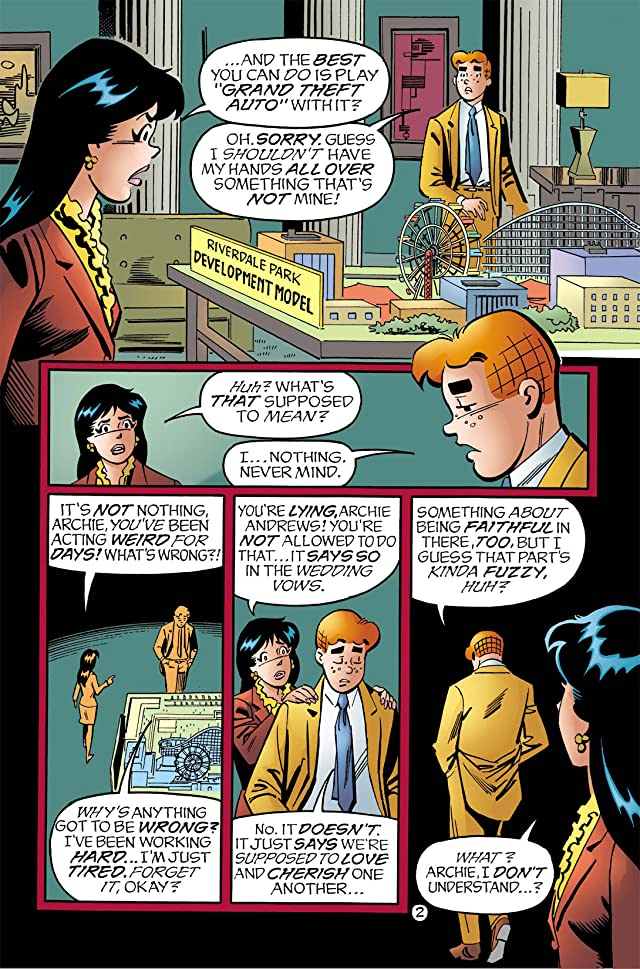 click for super-sized previews of Archie Marries Veronica #9