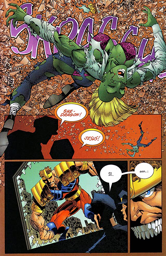 click for super-sized previews of Savage Dragon #40