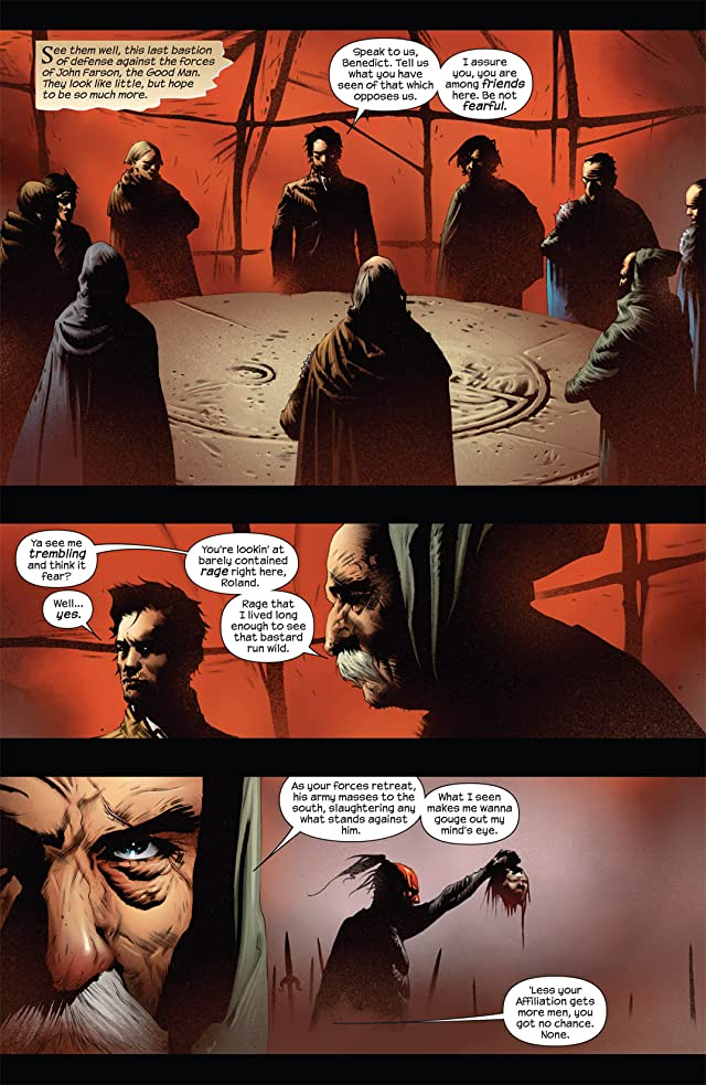 click for super-sized previews of Dark Tower: The Battle of Jericho Hill #3 (of 5)