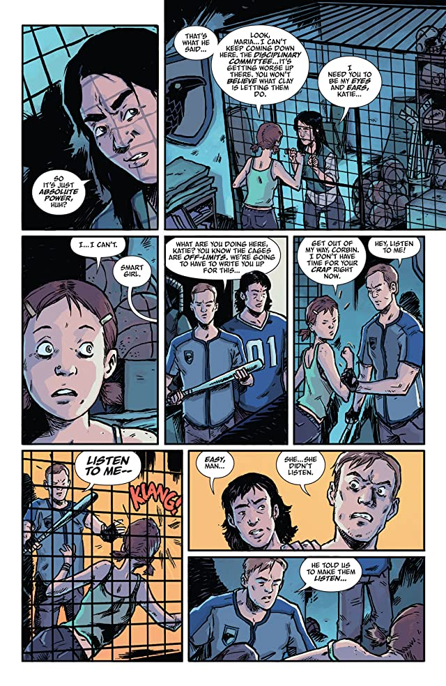 click for super-sized previews of The Woods #3