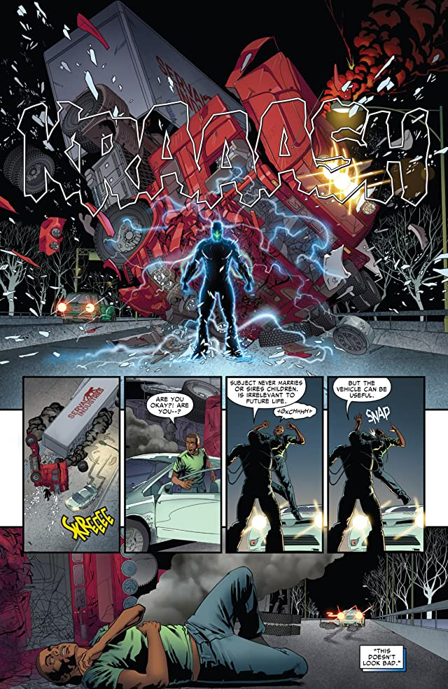 click for super-sized previews of Spider-Man 2099 (2014-) #1