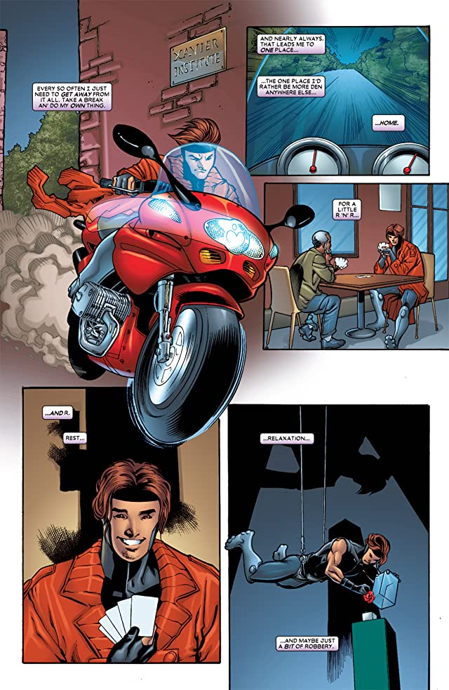 click for super-sized previews of Gambit Vol. 4 #5