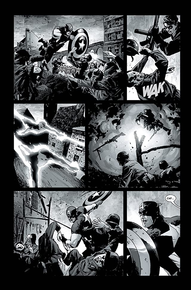 click for super-sized previews of Captain America (2004-2011) #2