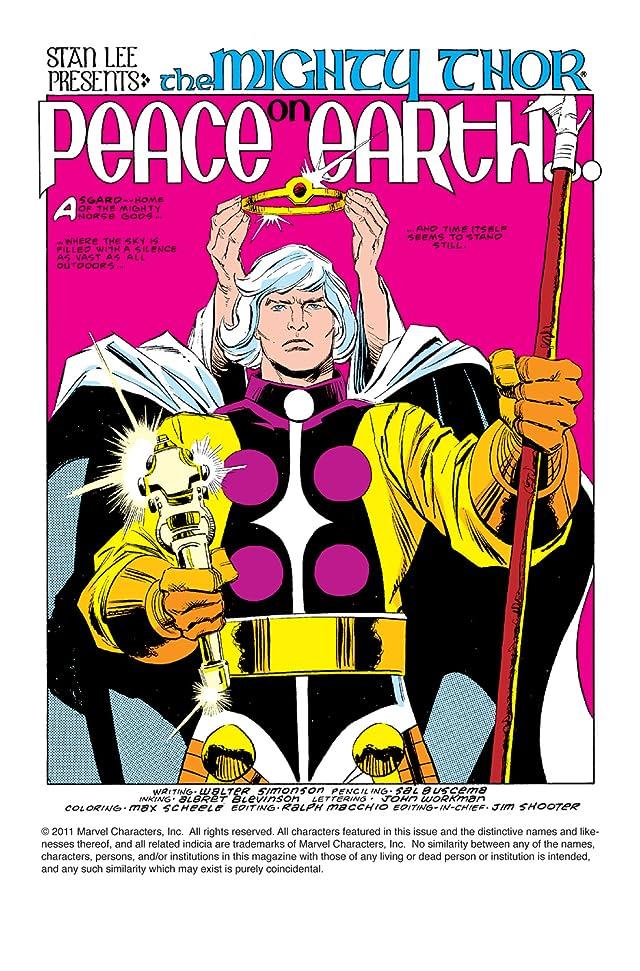 Thor (1966-1996) #371