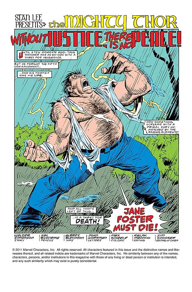 Thor (1966-1996) #372