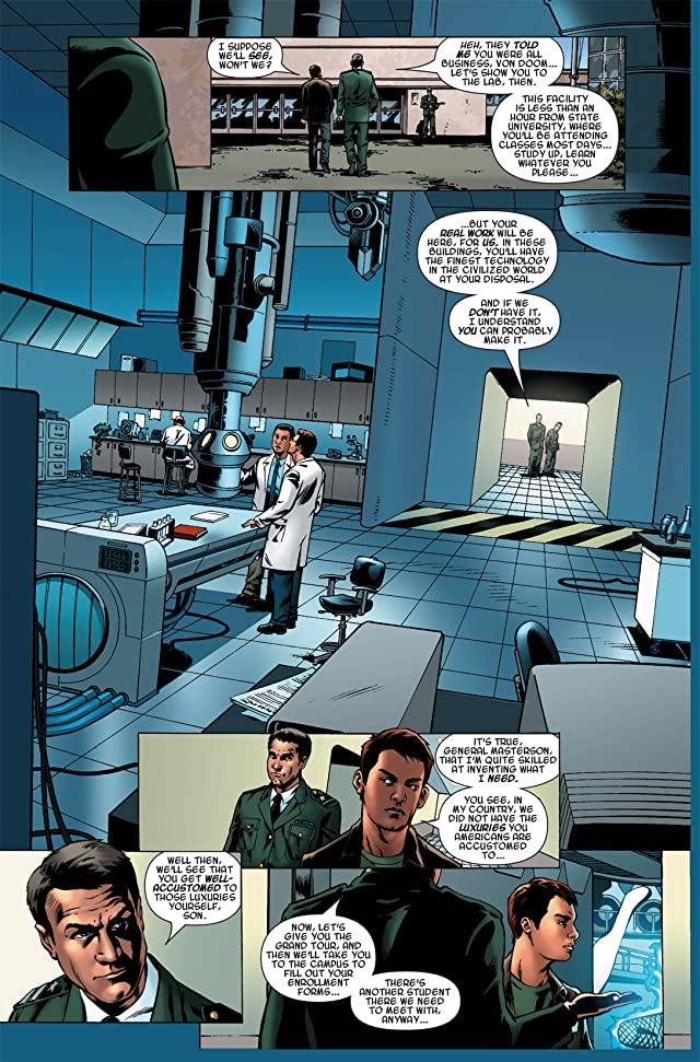 click for super-sized previews of Fantastic Four: Books of Doom #2