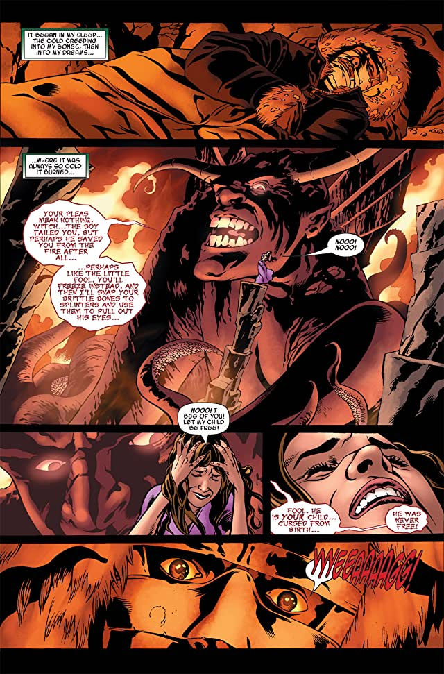 click for super-sized previews of Fantastic Four: Books of Doom #4