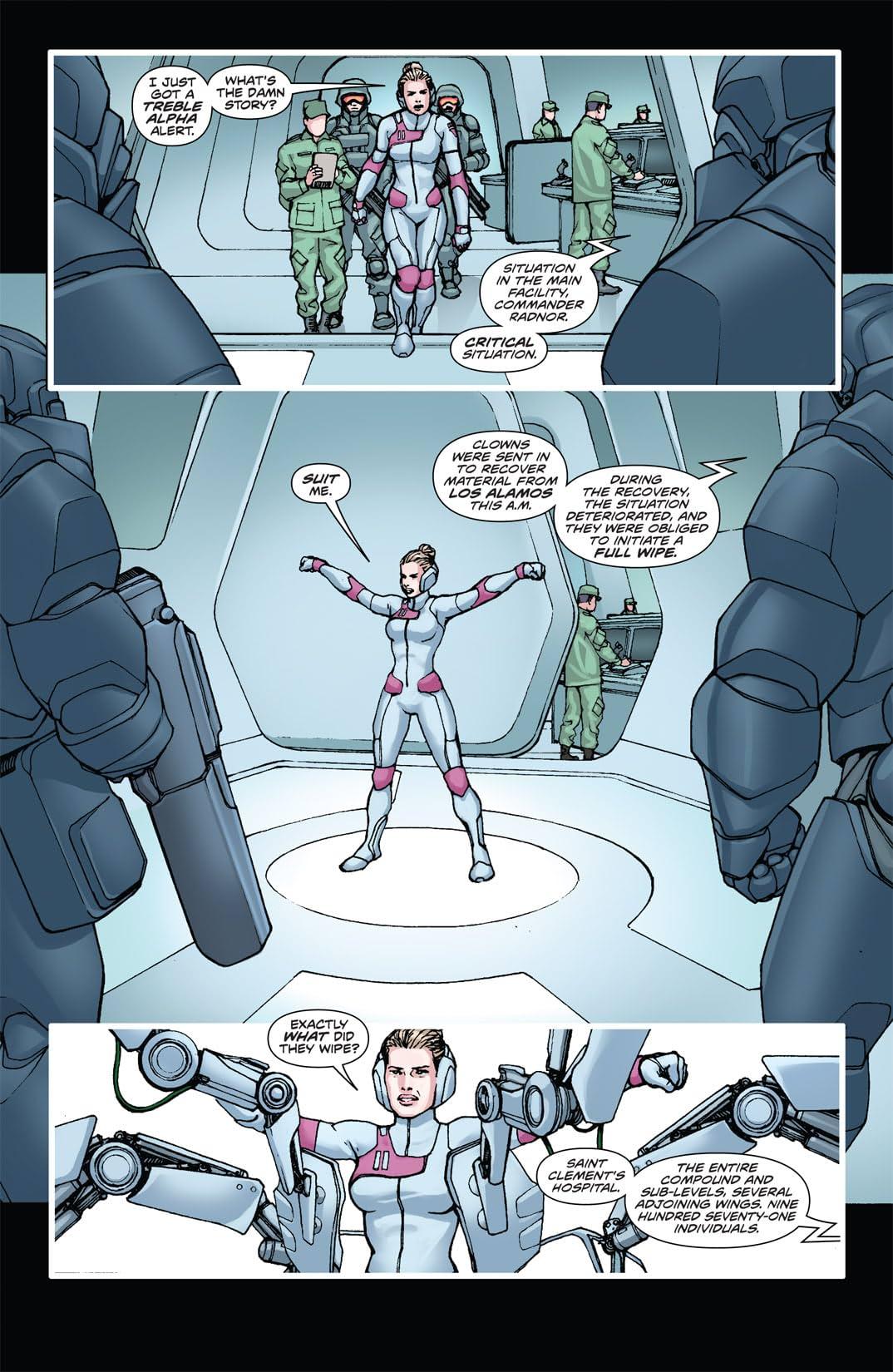 Stan Lee's Soldier Zero #8