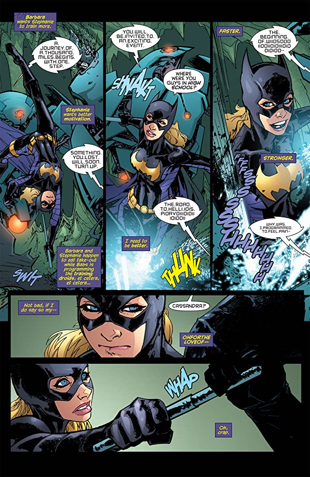 click for super-sized previews of Batgirl (2009-2011) #8