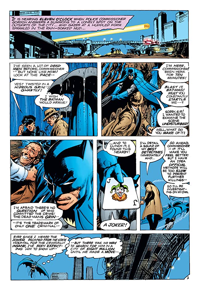 click for super-sized previews of Batman (1940-2011) #251