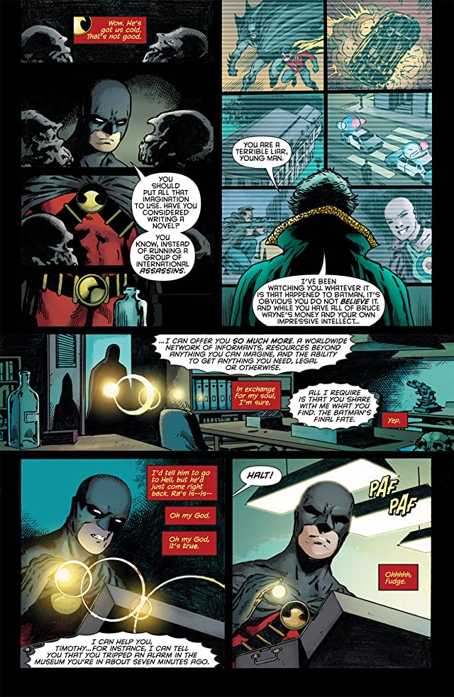 click for super-sized previews of Red Robin #3