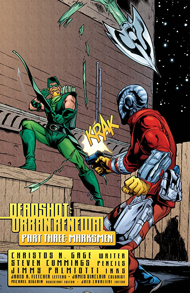 click for super-sized previews of Deadshot (2005) #3