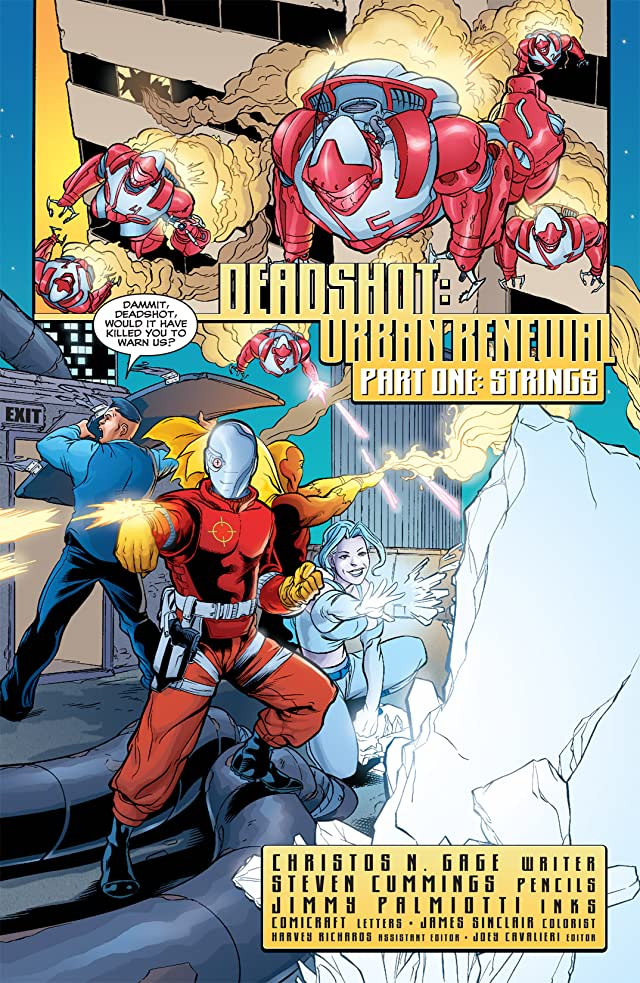 click for super-sized previews of Deadshot (2005) #1