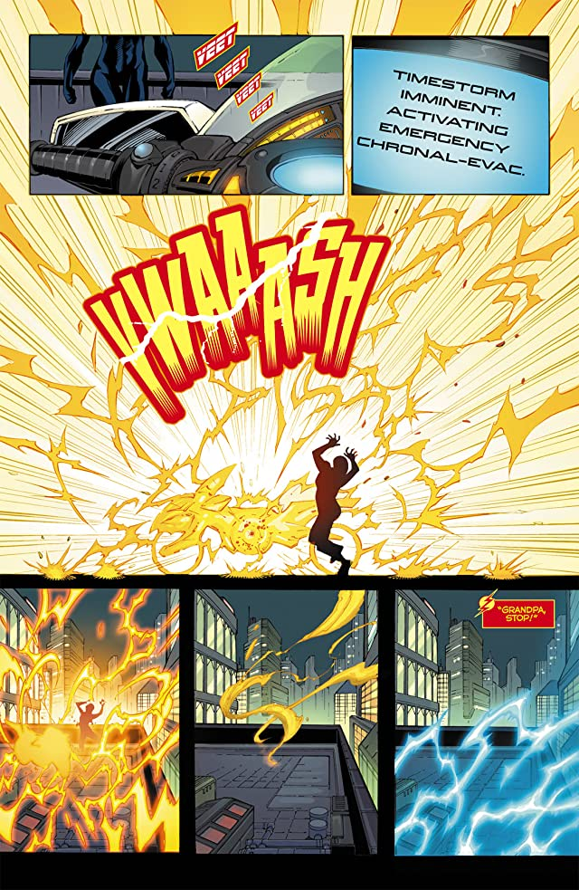 Flashpoint: Kid Flash Lost #1 (of 3)