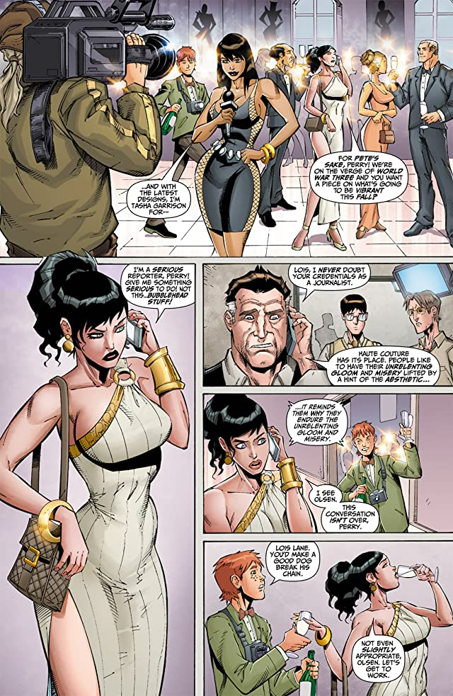 click for super-sized previews of Flashpoint: Lois Lane and the Resistance #1