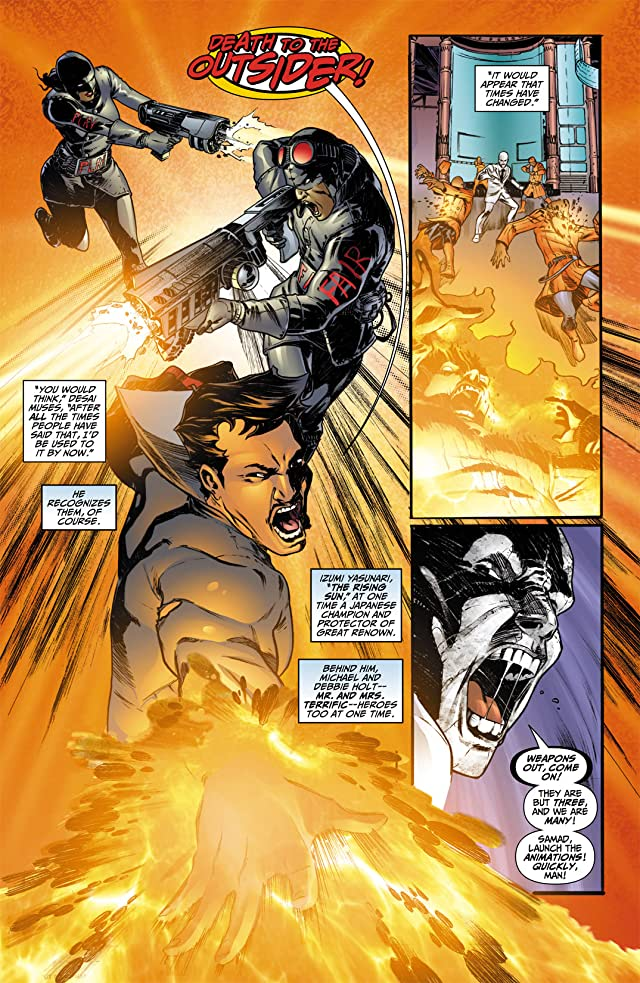 click for super-sized previews of Flashpoint: The Outsider #1