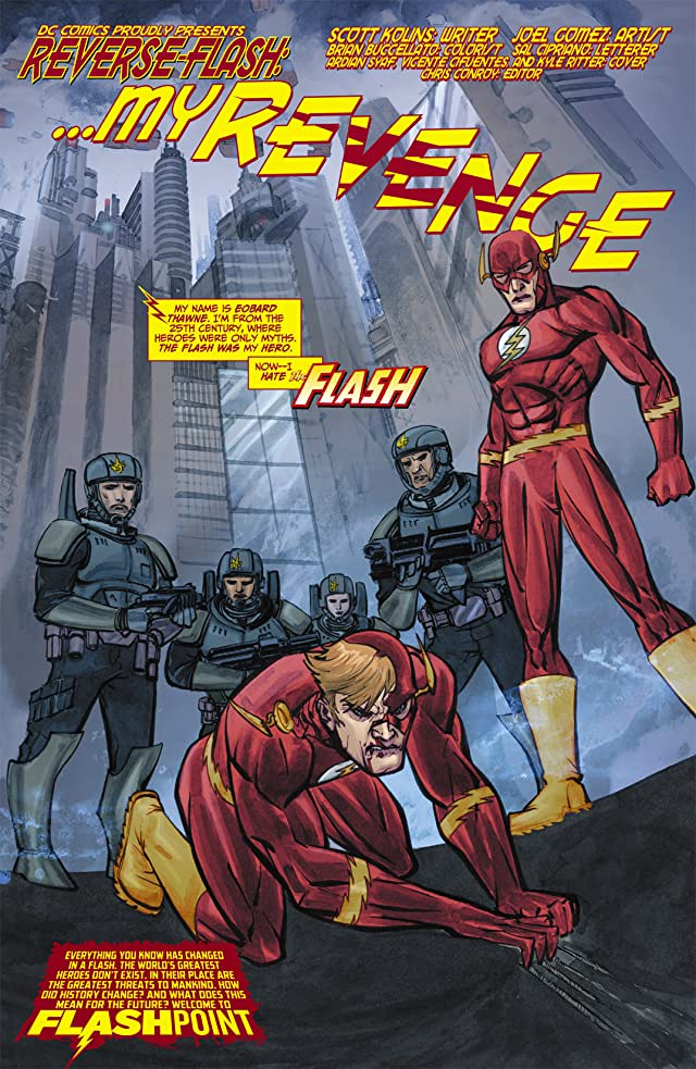click for super-sized previews of Flashpoint: Reverse Flash