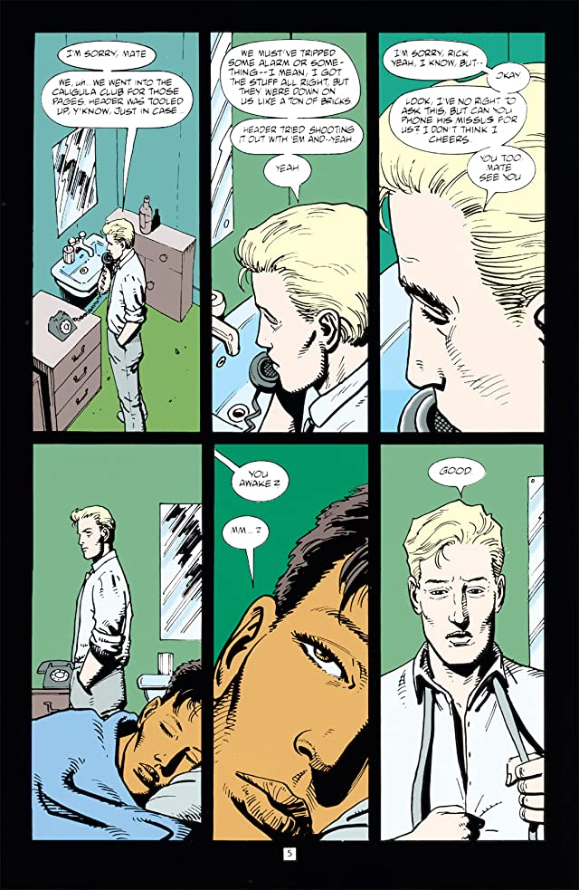 click for super-sized previews of Hellblazer #78
