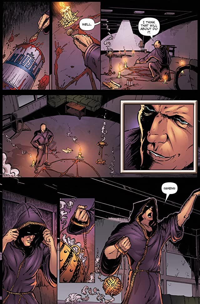 click for super-sized previews of Left Hand Path #1