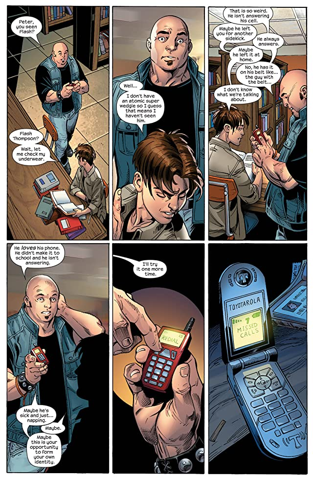 click for super-sized previews of Ultimate Spider-Man (2000-2009) #87