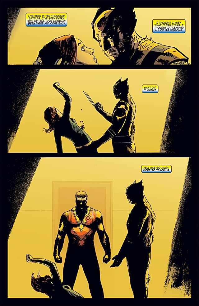 click for super-sized previews of Marvel Universe vs. Wolverine #1