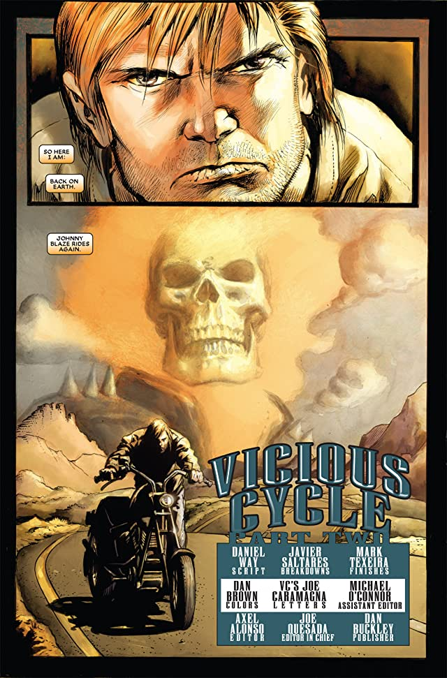 click for super-sized previews of Ghost Rider (2006-2009) #2