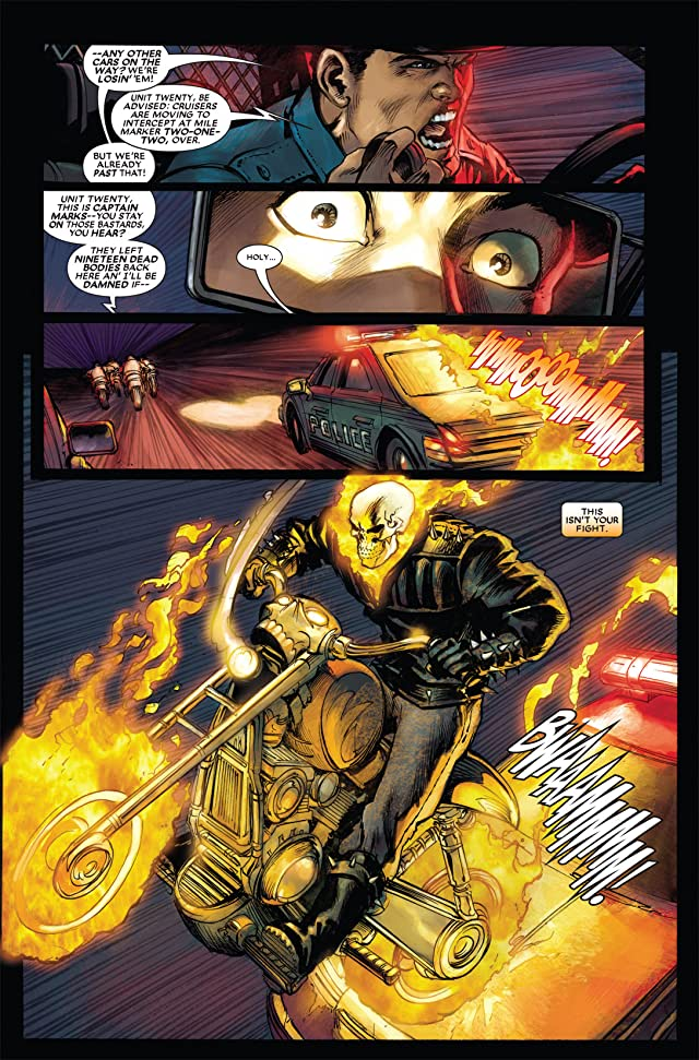 click for super-sized previews of Ghost Rider (2006-2009) #5