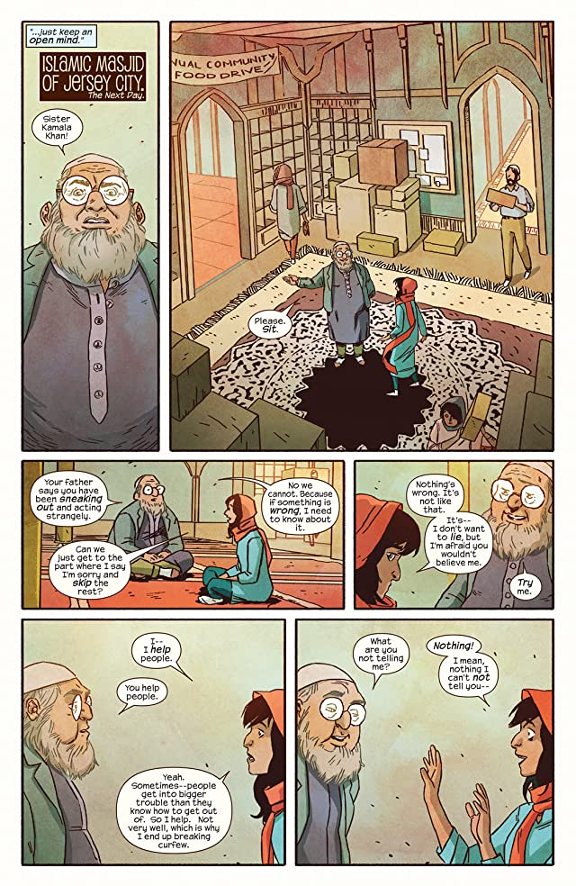click for super-sized previews of Ms. Marvel (2014-) #6