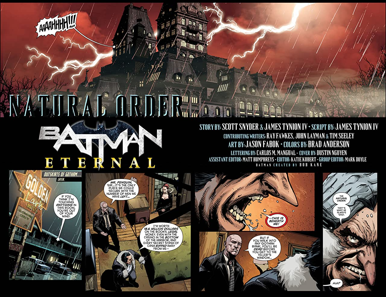 Batman Eternal (2014-2015) #14
