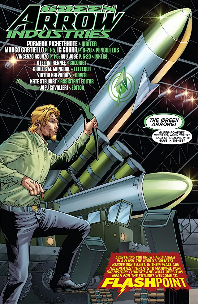 click for super-sized previews of Flashpoint: Green Arrow Industries