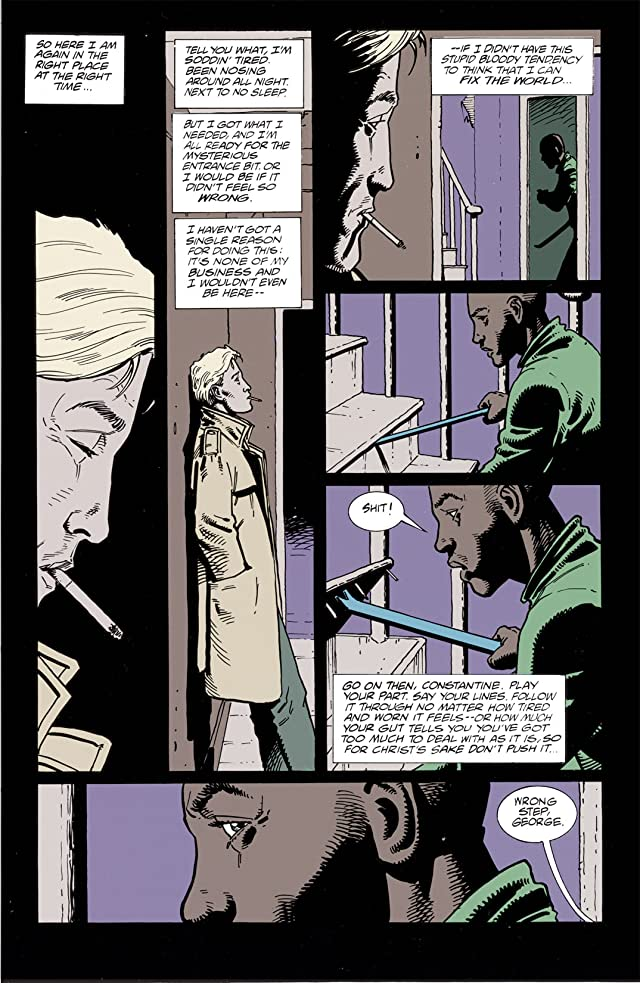 click for super-sized previews of Hellblazer #80