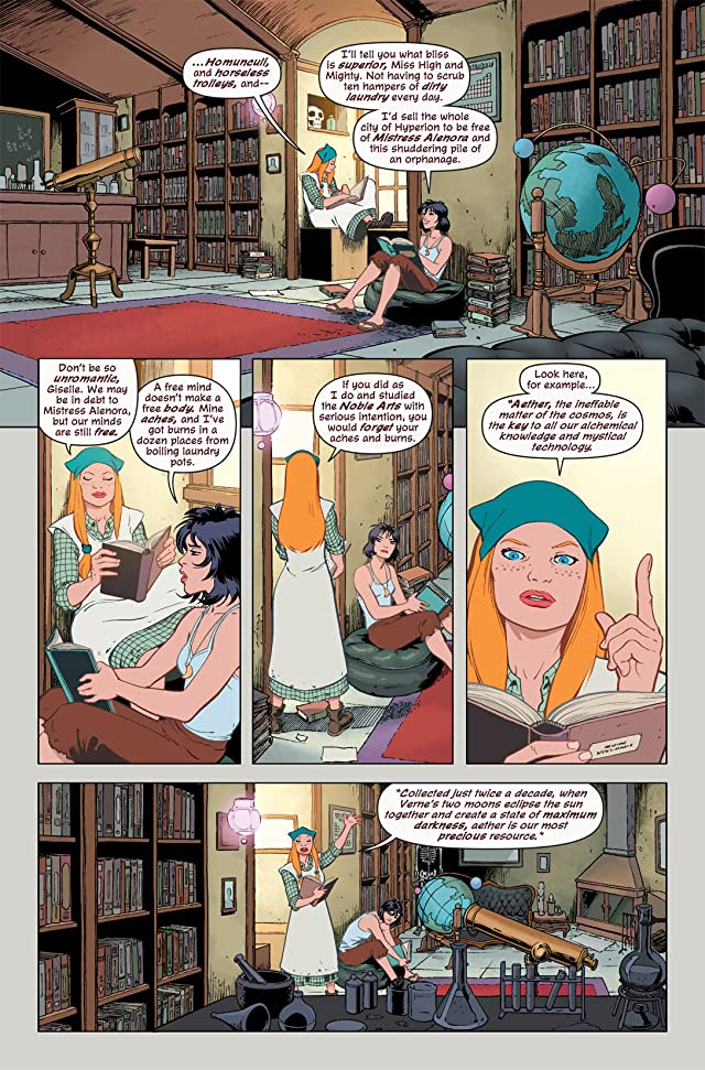 click for super-sized previews of Mystic #1