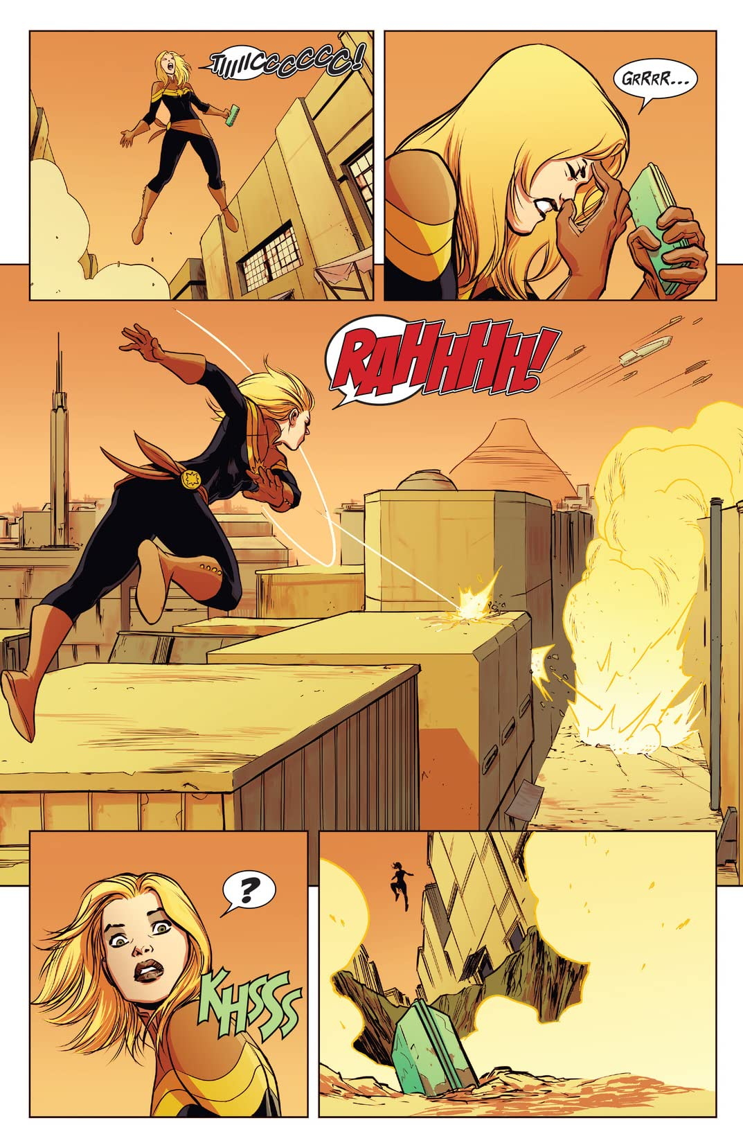 Captain Marvel (2014-2015) #5