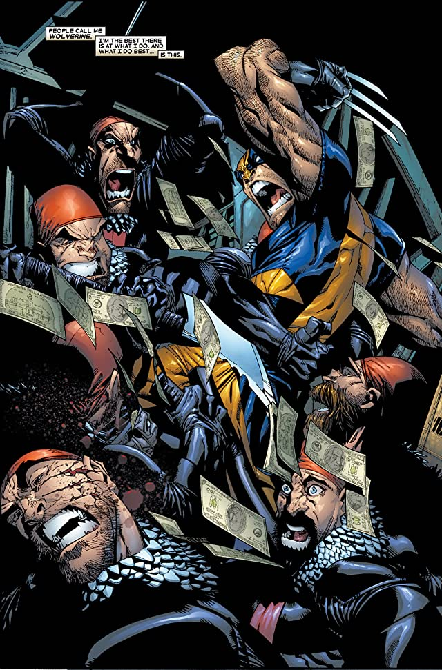 click for super-sized previews of Wolverine (2003-2009) #42