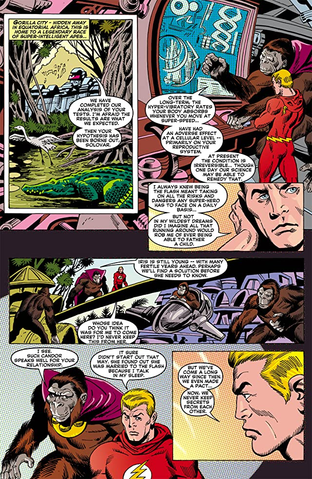 click for super-sized previews of DC Retroactive: The Flash - The 70s #1