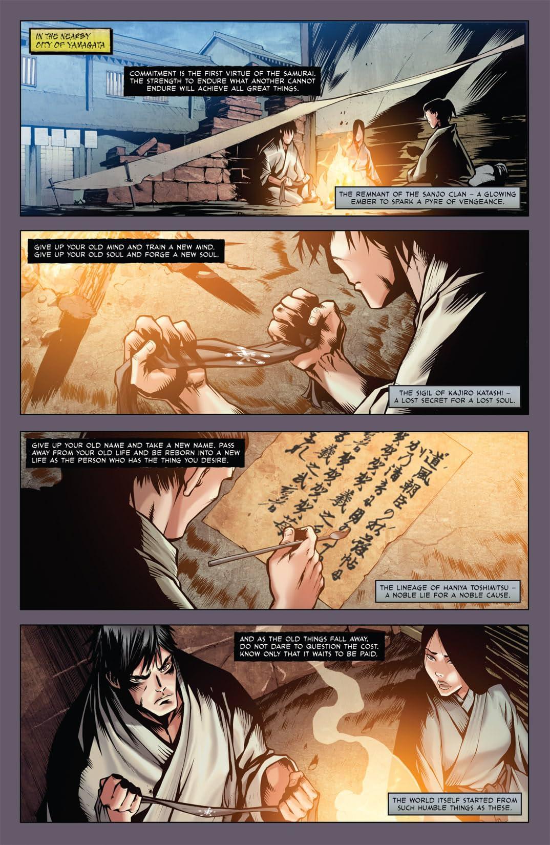 Samurai's Blood #2 (of 6)