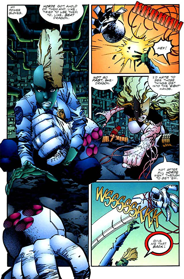 click for super-sized previews of Savage Dragon #51