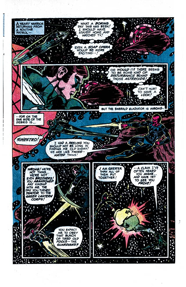 click for super-sized previews of Green Lantern (1976-1986) #91