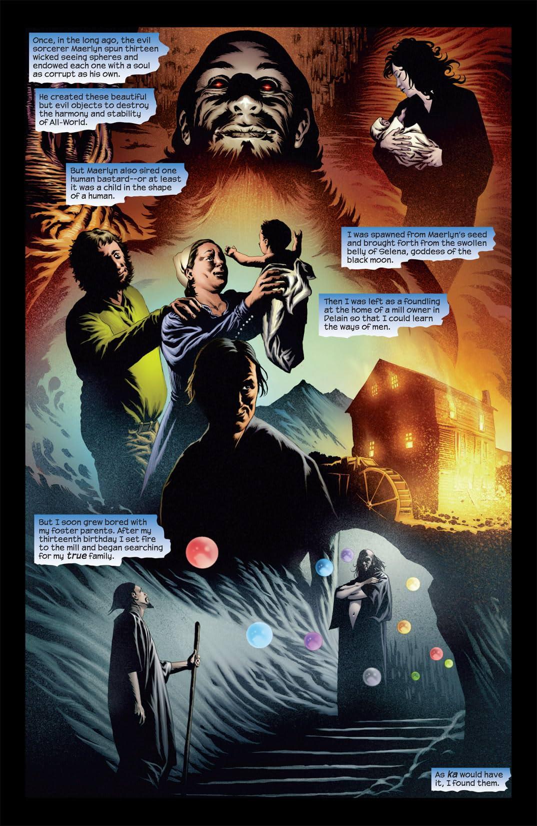 Dark Tower: Sorcerer #1