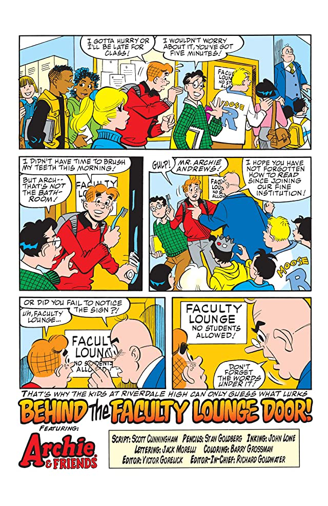 click for super-sized previews of Archie & Friends #104