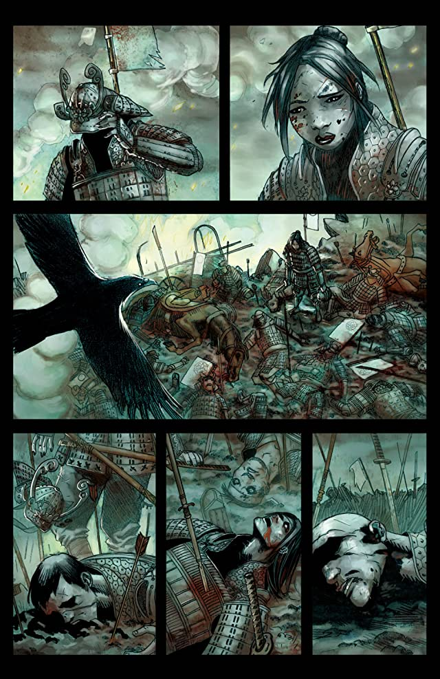 click for super-sized previews of Blade of Kumori #4