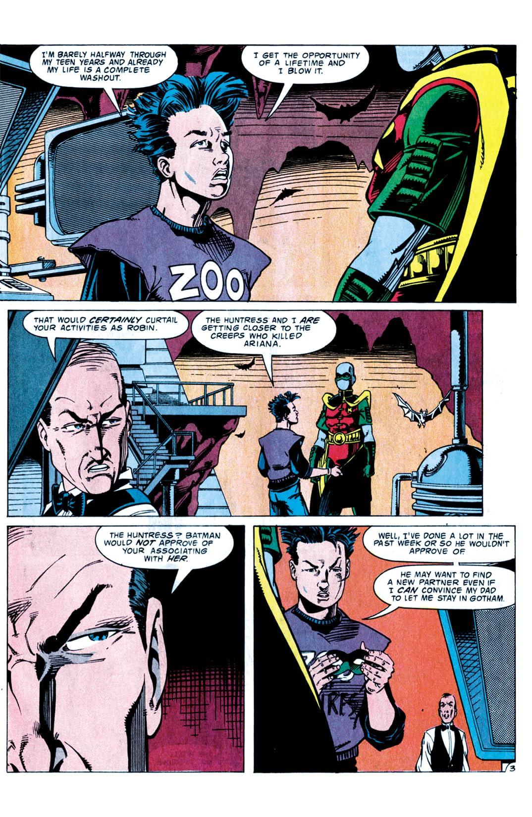 Robin III: Cry of the Huntress #5 (of 6)