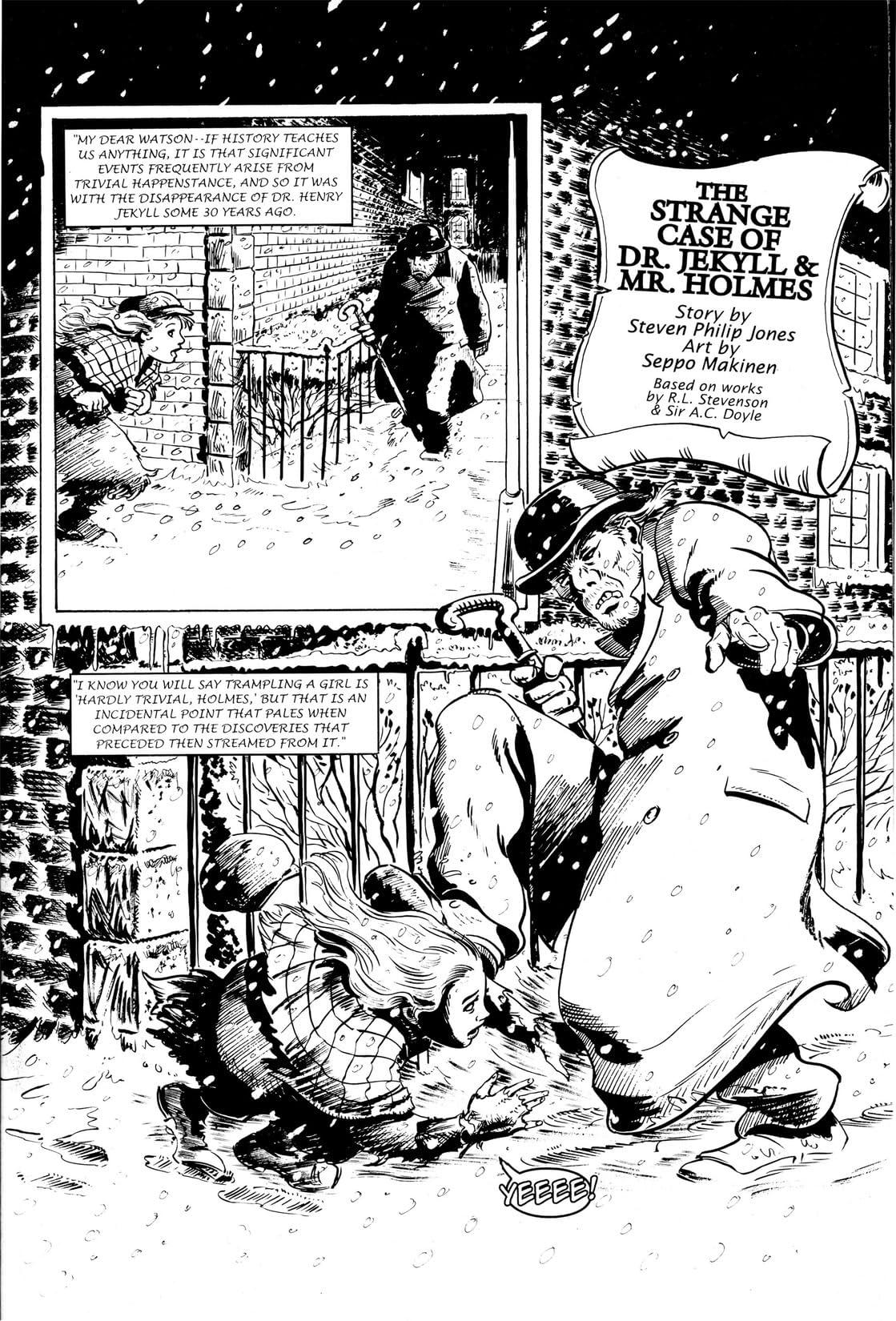 Sherlock Holmes: Dr. Jekyll & Mr. Holmes
